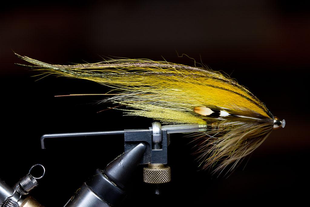 Banana Superior Quality Salmon Fly Brooch Pin