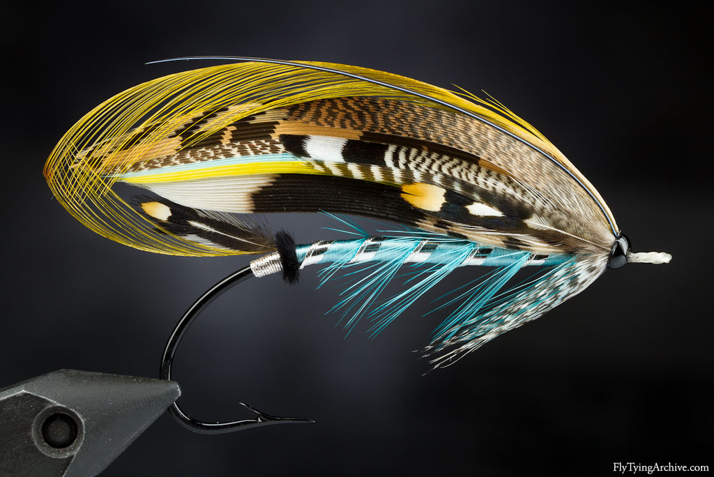 Fly Tying Archive | Greenwell classic salmon fly according ... Classic Atlantic Salmon Fly Patterns