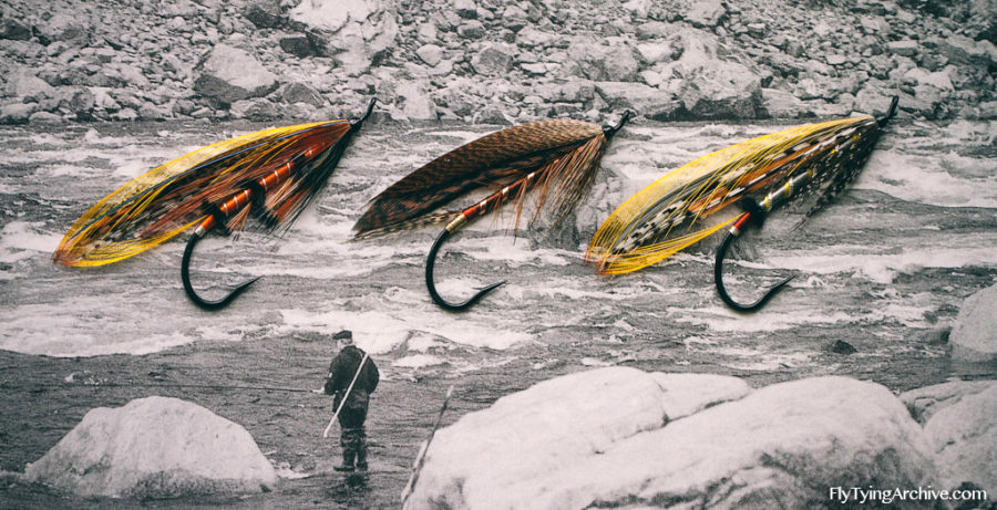 Traditional Finnish Salmon Flies