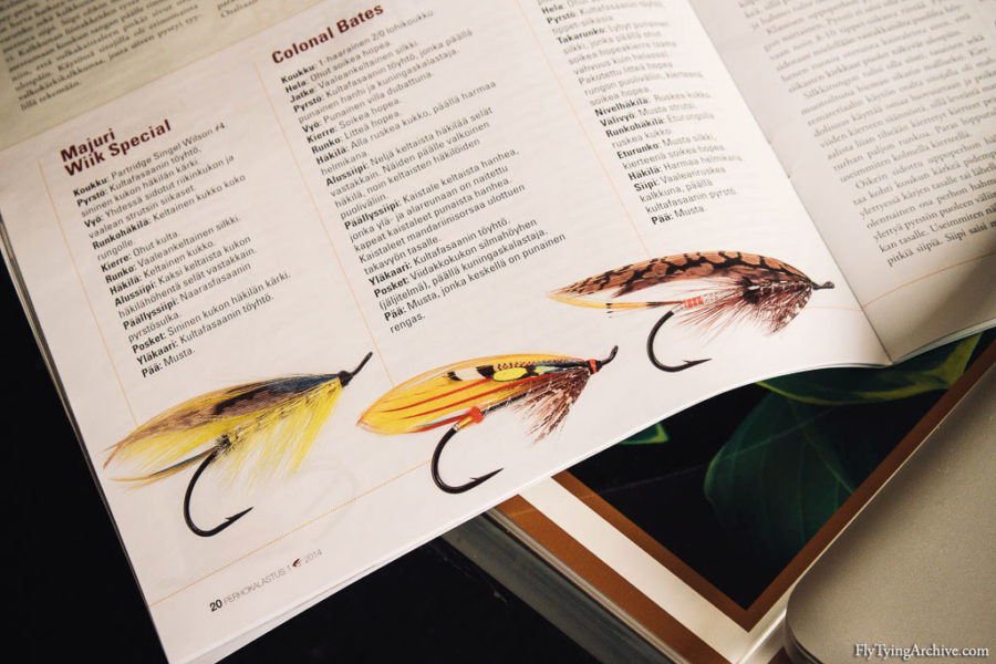 Finnish National Fly Tying Competition 2014